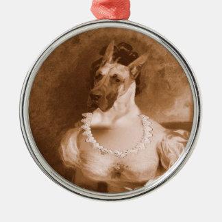 Great Dane Xmas Ornament