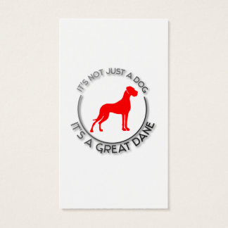 Great Danes Business Card