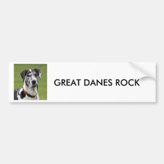 GREAT DANES ROCK BUMPER STICKER