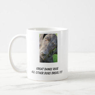 Great Danes Rule Mug