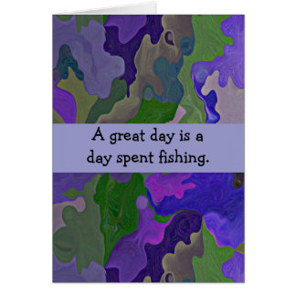 great day fishing card