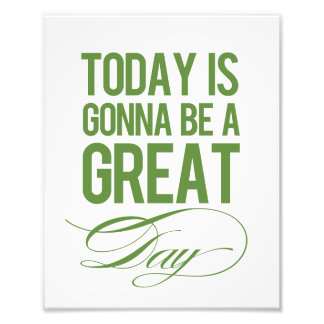 """Great Day"" Modern Wall Art Print Photograph"