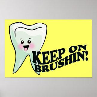 Great Dental Hygiene Poster