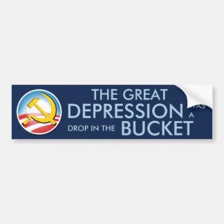 Great Depression Was Nothing Bumper Sticker