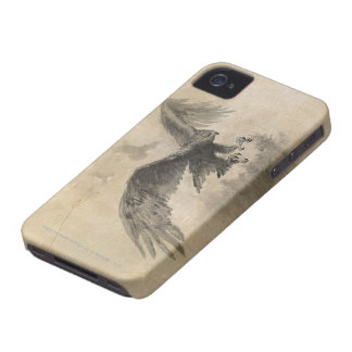 Great Eagles Sketch iPhone 4 Case-Mate Case