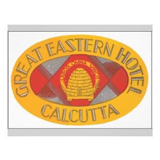 Great Eastern Hotel Calcutta, Vintage Full Color Flyer