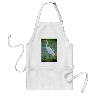 Great Egret 1 Standard Apron