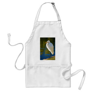 Great Egret 2 Standard Apron