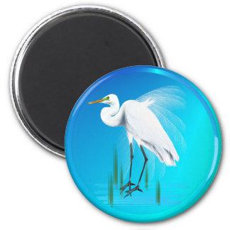 Great Egret Magnets