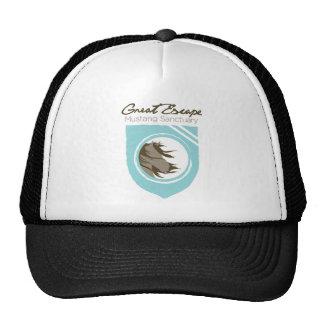 Great Escape Mustang Sanctuary Full Logo Trucker C Mesh Hats