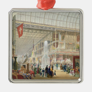 Great Exhibition, 1851: Central Transept of the Cr Christmas Ornament