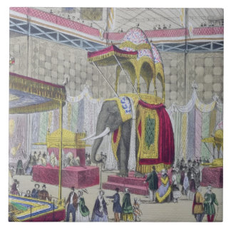 Great Exhibition, 1851: Indian Department from Int Large Square Tile