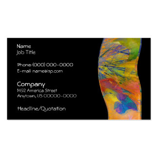 Great Expectations Abstract Profile Card Pack Of Standard Business Cards
