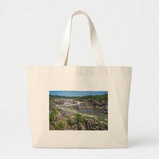 Great Falls National Park Large Tote Bag