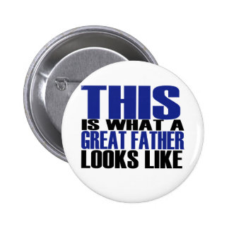 Great FATHER 6 Cm Round Badge