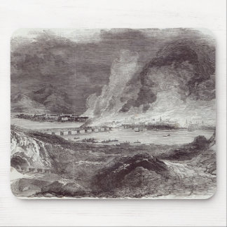 Great Fire at Pittsburgh Mouse Mat