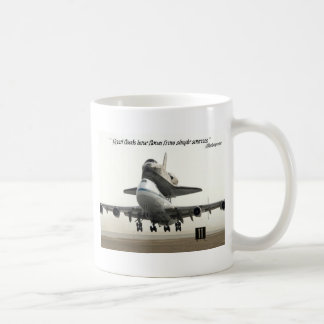 """""""Great floods have flown from simple sources."""" Basic White Mug"""