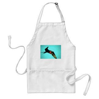 Great Frigatebird In Flight Standard Apron