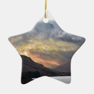 Great Gable from Wast Water Ceramic Star Decoration