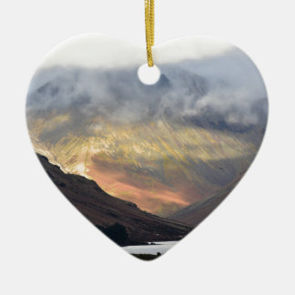 Great Gable from Wast Water Christmas Ornament