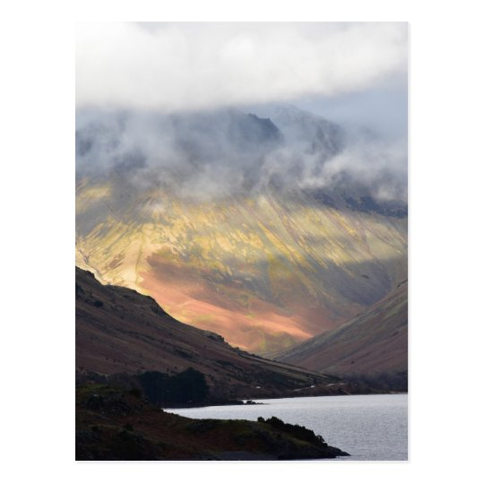 Great Gable from Wast Water Postcard