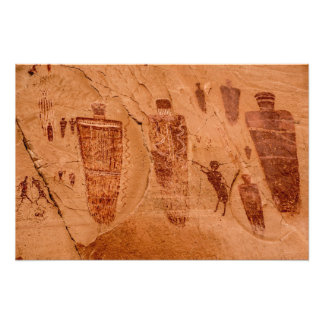 Great Gallery Pictographs of Horseshoe Canyon Photo Art