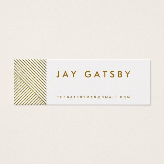 GREAT GATSBY Calling Card