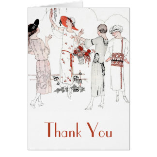 Great Gatsby Inspired Thank You Card