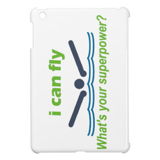 Great gift for the butterfly stroke swimmer! iPad mini cover