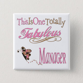 Great Gifts For Boss 15 Cm Square Badge