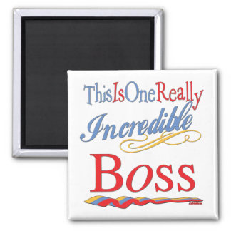 Great Gifts For Boss Square Magnet