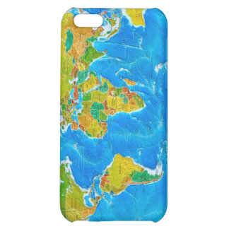 Great global graphic! iPhone 5C case