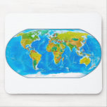 Great global graphic! mouse pad