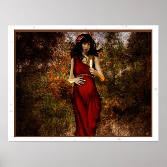 Great Goddesses: Brigid Poster