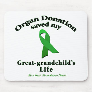 Great-grandchild Transplant Mouse Pad