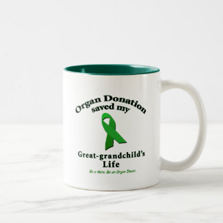 Great-grandchild Transplant Coffee Mugs