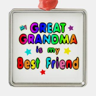 Great Grandma Best Friend Christmas Ornament