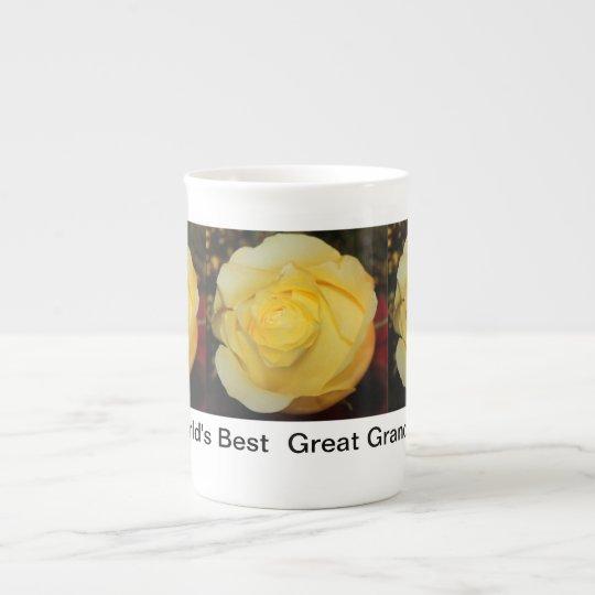 Great Grandma bone china mug