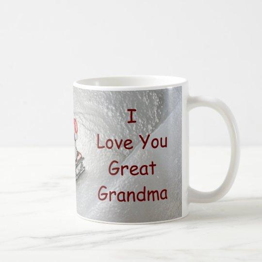 Great Grandma Christmas - I Love You Penguin Coffee Mug