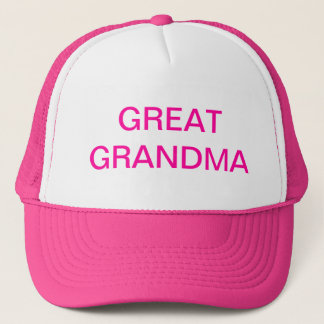 GREAT GRANDMA Hat