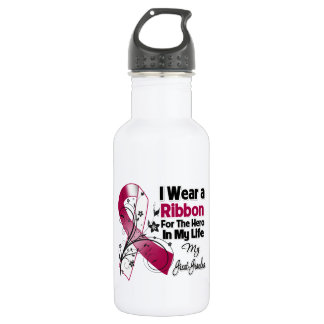 Great-Grandma Hero in My Life Head Neck Cancer 532 Ml Water Bottle