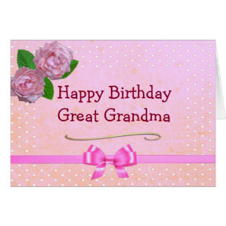 New Great Grandmother Cards Invitations