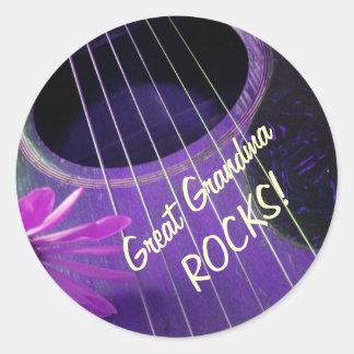 Great Grandma ROCKS stickers