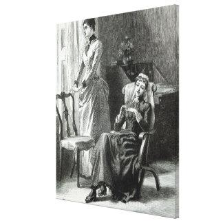 Great-Grandmamma Severan by Leslie Keith Canvas Print