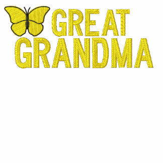 Great Grandmother Butterfly Embroidered Shirt