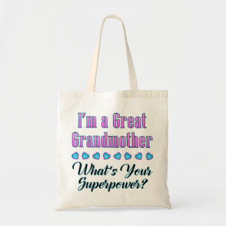 Great Grandmother Superpower Tote