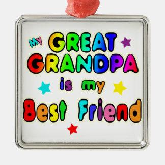 Great Grandpa Best Friend Christmas Ornament