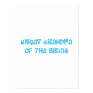 Great Grandpa of the Bride Postcards