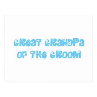 Great Grandpa of the Groom Postcards