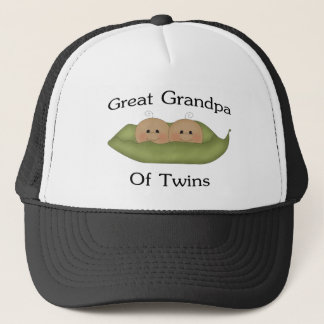 Great Grandpa Of Twins Trucker Hat